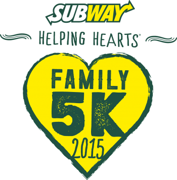 SUBWAY Helping Hearts™ Family 5K series