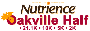 Nutrience Oakville Half Marathon