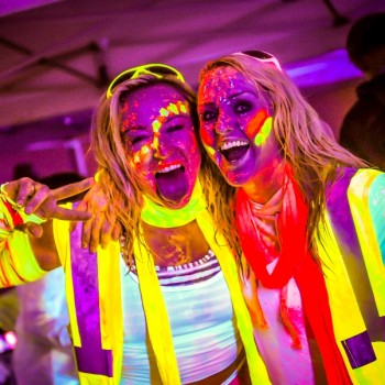 Belfast Glow Neon Fun Run 2015