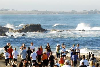 Half Marathon on Monterey Bay