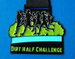 The Dirt Half 2015 Medal