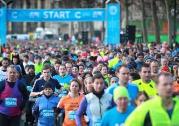 Cancer Research UK Winter Run Manchester