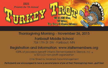 7th Annual IRIS Turkey Trot presented by southernminnSCENE.com