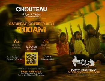Knees 2 War- Chouteau