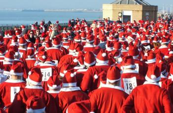 Santa Dash Brighton
