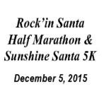 Rock'in Santa Half Marathon & Sunshine Santa 5K