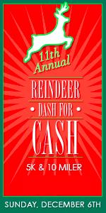 Reindeer Dash for Cash 10 Miler & 5k