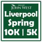 John West Liverpool Spring 10k logo