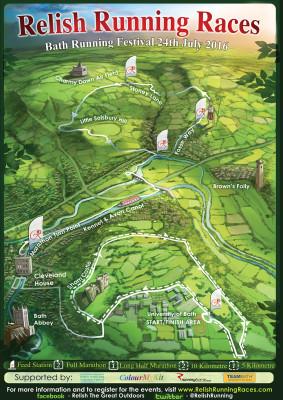 Bath Running Fesitval - Long Half Marathon