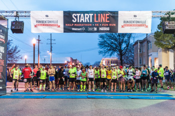 6th Annual RunBentonville Half Marathon