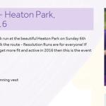Resolution Run - Heaton Park, Manchester 2016