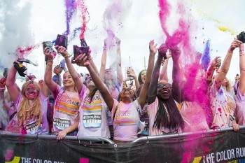 The Color Run Presented by Skittles Glasgow
