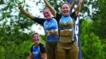 Mud race Surrey UK