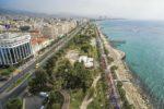 Limassol Marathon GSO_aerial view of Molos
