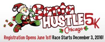 Santa Hustle Chicago 5K