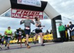 Joy at the Finish of the Southern Fried Half Marathon!