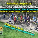 TrailCross Golden Gate Park 5k, 10k