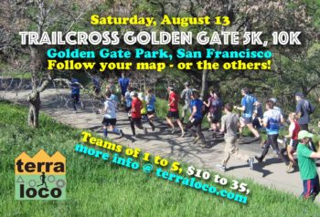 TrailCross Golden Gate Park 5k, 10k