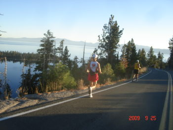 THE LAKE TAHOE MARATHON & EMERALD BAY HALF MARATHON