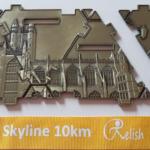 Skyline 10km Medal