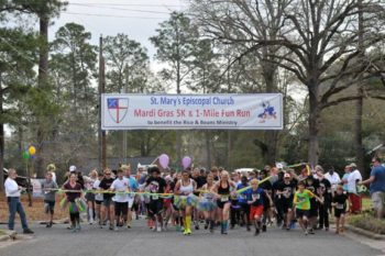 St. Mary's Mardi Gras 5K for Rice and Beans