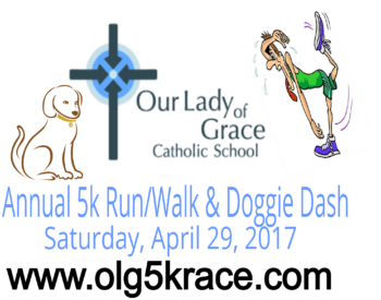 Our Lady of Grace School Annual 5k/ Fun Run and Doggie Dash