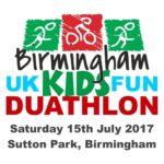 Birmingham UK Kids Fun Duathlon