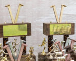 Rails-to-Trails trophies