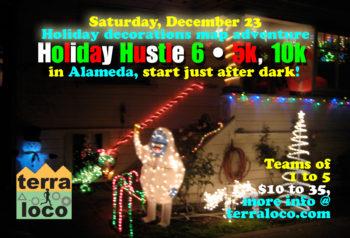 Holiday Hustle 5k, 10k
