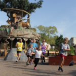 Run through Chessington World of Adventures
