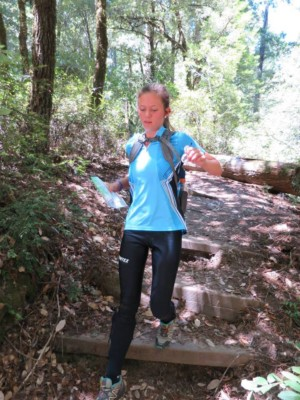 Big Basin Orienteering 9-17-17