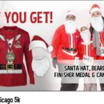 Chicago santa 5k run