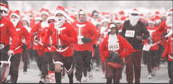 Santa Hustle Half Marathon and 5k