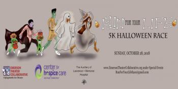 Run For Your Life' Halloween 5K Race