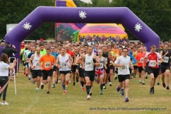 Spire Bushey 10k, 5k And Junior Races