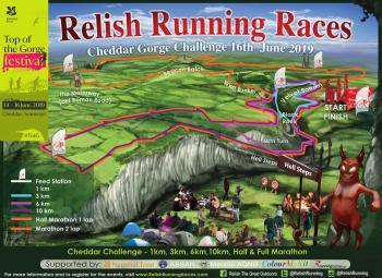Cheddar Gorge 10km, Marathon, Marathon