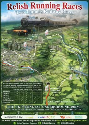 Two Tunnels Half Marathon, Marathon, 50km & 5 x 10km Relay
