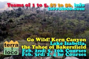 Go Wild! Kern Canyon 2 hr, 4 hr