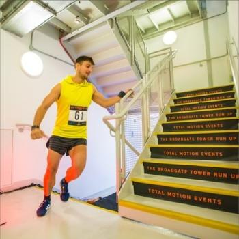 The Broadgate Tower Run Up 2019