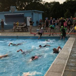 The Tooting Bec Lido SwimRun