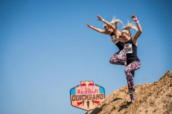 Red Bull Quicksand - 1 Mile Run on Margate Beach, Kent. 18th May 2018