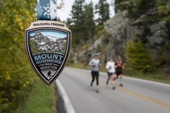 Mount Rushmore Half Marathon, September 2019