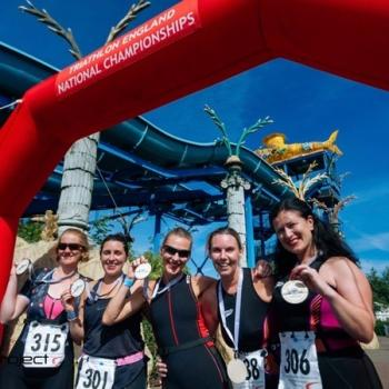 Thorpe Park Sprint Triathlon, 9 June 2019