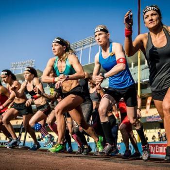 Spartan Race Stadion - Angel Stadium of Anaheim 2019