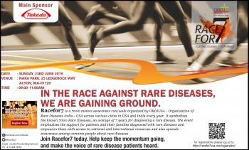 Racefor7 - 7000 Meters Run/Walk in support of patients with rare diseases