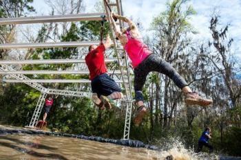 Rugged Maniac 5k Obstacle Race, Atlanta, GA - August 2019