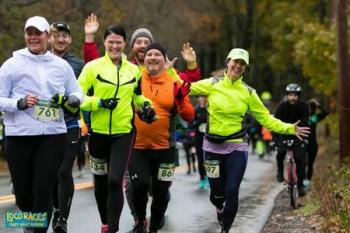 The Loco Half and Full Marathon, Newmarket, NH - October 2019