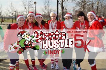 Santa Hustle Half Marathon, 5k and Kids Dash Indianapolis