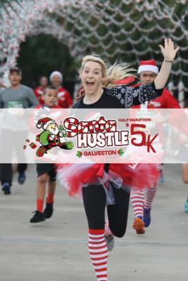 Santa Hustle Half Marathon, 5k and Kids Dash Galveston