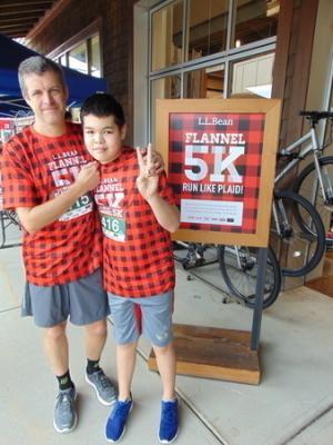 LL Bean Flannel 5k - September 2019, Mansfield, MA